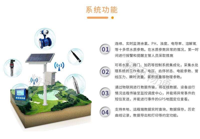 立杆式水环境在线监测系统